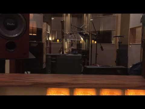 Lauren Hayes Harp Recording for Dead Superheroes Orchestra