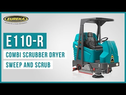 E110-R Eureka | Combined Sweeper / Scrubber Dryer