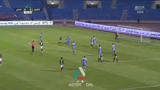 هدف الاتفاق الاول ضد الباطن. جوله 2 . من دوري كاس محمد بن سلمان