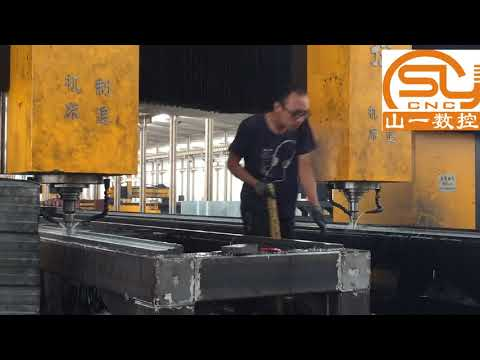 China manufacturer high speed double head cnc drilling machine for steel structure