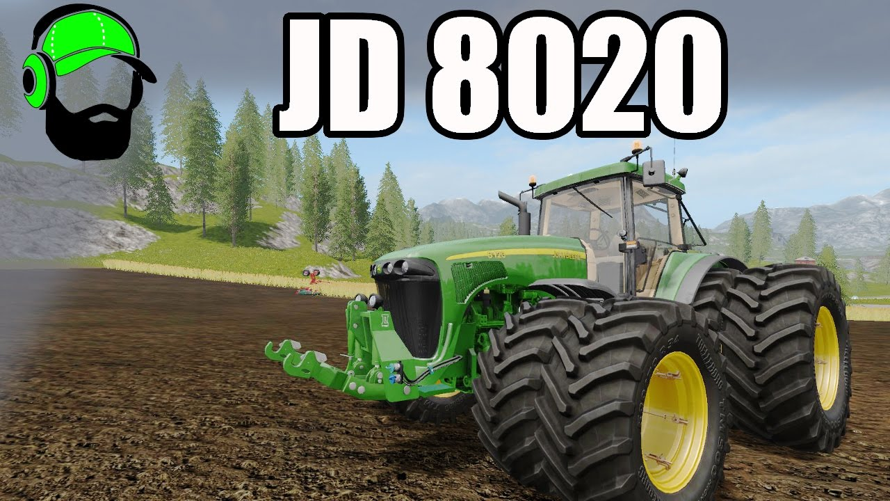 Farming Simulator 17 Mod - John Deere 8020 Series-#FS17