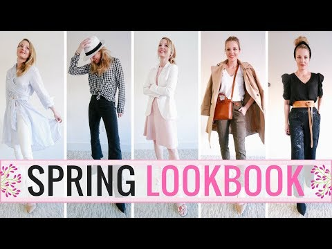 Spring Lookbook 2018 | Featuring 9 Outfit Ideas!
