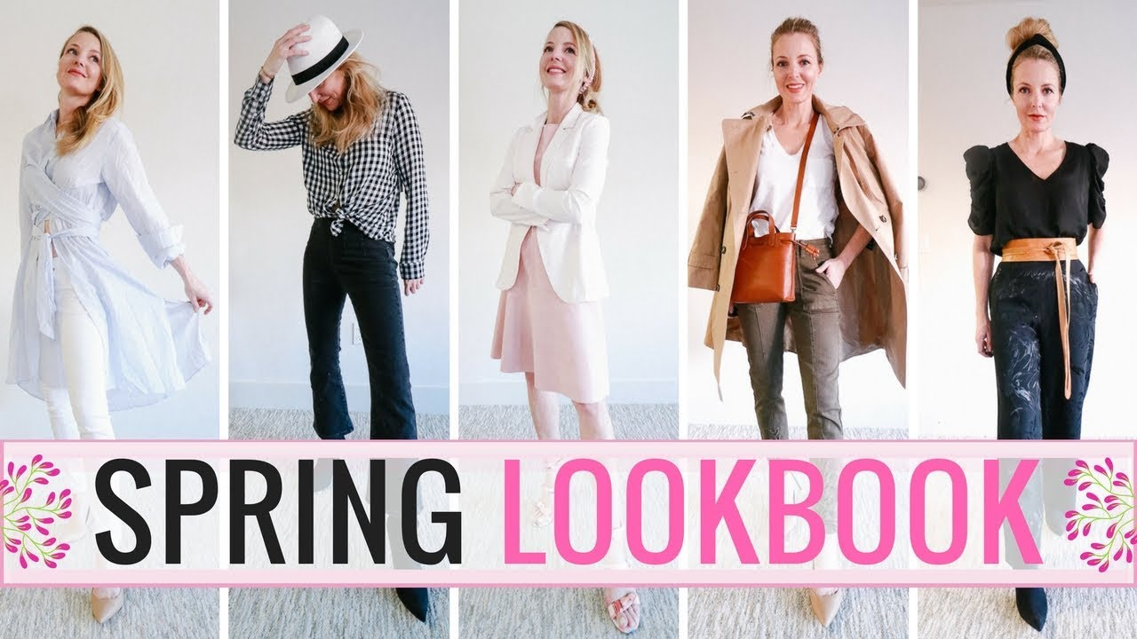 Spring Lookbook 2018 | Featuring 9 Outfit Ideas!   YouTube
