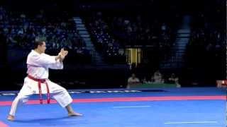 Luca Valdesi - Individual Kata Male Final - WKF World Karate Championship Belgrade 2010