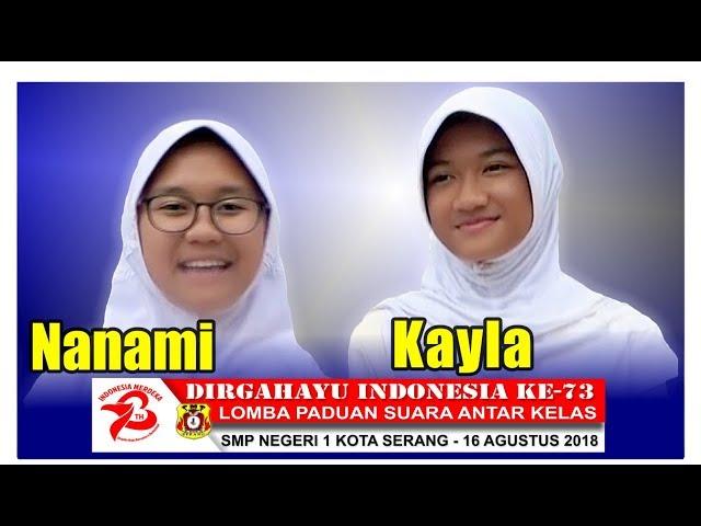 Lomba Padus HUT RI Ke-73 SMP Negeri 1 Kota Serang 2018 part.5