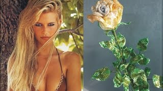 Видеоотчёт № 3 - ЧАСТЬ 1: Бокаловидная роза из бисера