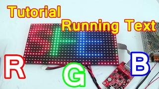 Tutorial Merakit Running Text RGB P10 dengan Controller TF-M2