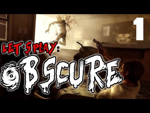 Let's Play ObsCure - Part 1 - Dansgaming  || Gameplay Walkthrough - PS2 Horror