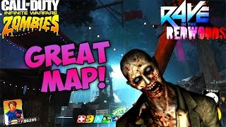 WHY RAVE IN THE REDWOODS WILL BE  A GREAT MAP! - Infinite Warfare Zombies DLC 1 New Map Predictions
