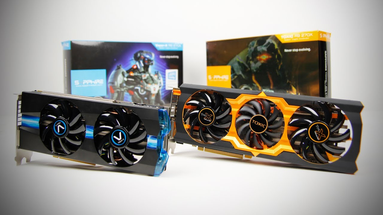 Sapphire Radeon R9 270X Vapor-X & Toxic Editions Unboxing & Review |  Unboxholics