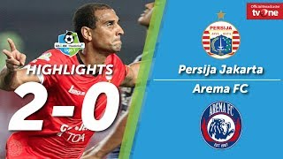 Persija Jakarta VS Arema FC: 2-0 All Goals & Highlights