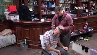 Zadruga 4 - Nikola se vratio da mu Kristijan dovrši frizuru - 12.01.2021.