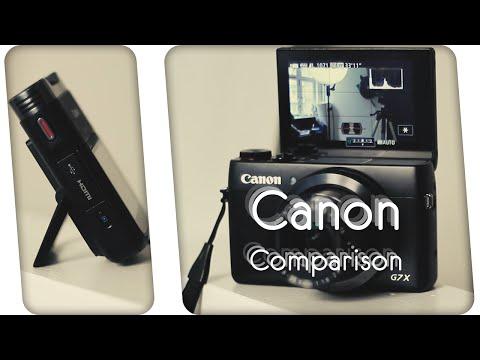 Canon Comparison   Legria Mini X & G7x