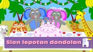 Slon lepotan Dondolan (Don-Dolan) - Minja Subota   Dečije pesme   Pesme za decu   Jaccoled C