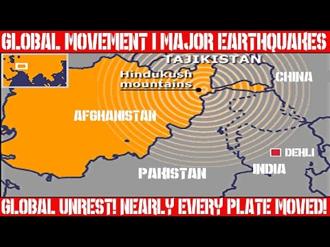 Earthquake Report | April 10, 2016 | Entire Globe Has Moved | Global Unrest