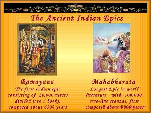 Indian Epics    Ramayana    Indian History for Civil ...