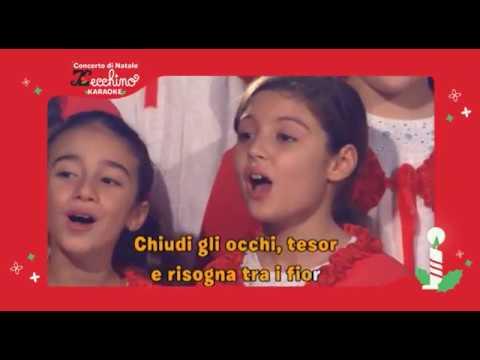 Canzoni Di Natale Zecchino D Oro.Concerto Di Natale Con Lo Zecchino D Oro 2011 Ninna Nanna Di Brahms Karaoke Version