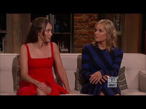 Talking Dead 823: 408  Alycia DebnamCarey & Kim Dickens Talking About Each Other