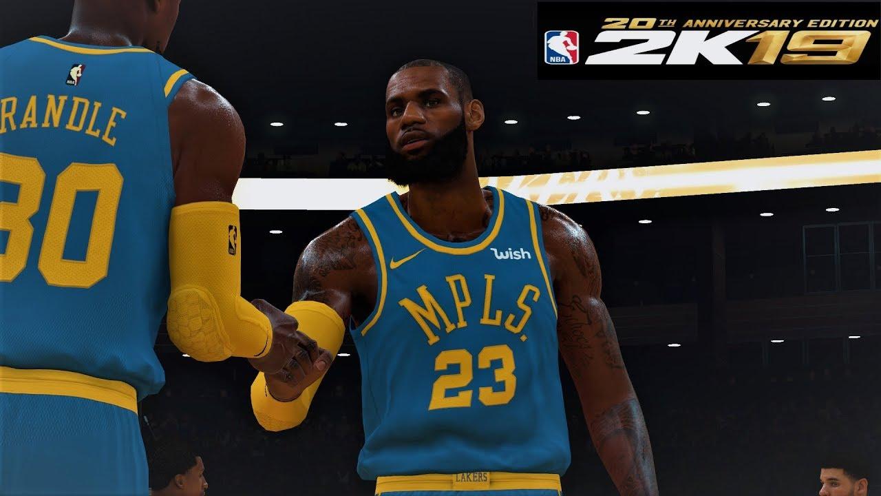 wholesale dealer 3c82f 64dee NBA 2K18-19 LeBron James GOAT Montage EPIC Dunks,BREAK ANKLES Mixtape! -  Part4