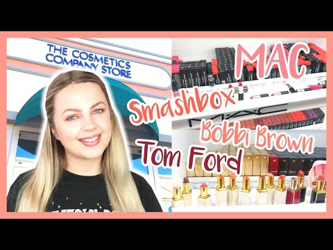 THE COSMETICS COMPANY STORE SHOP WITH ME! Cheap Luxury Makeup!