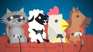 КАК ПРАВИЛЬНО ИГРАТЬ в Ultimate Chicken Horse !!!