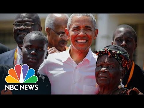 Barack Obama Visits His Father's Childhood Village In Kenya | NBC News