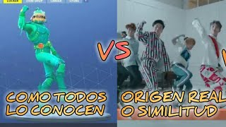 "THE ORIGIN OF FORTNITE BAILES HOW PEOPLE KNOW IT VS BAILE ORIGINAL OR -""INENSION""-"