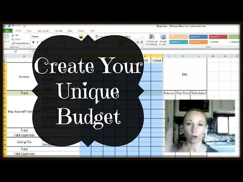 Create A Unique Zero Base Budget | Excel Tutorial