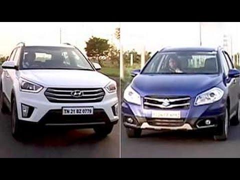 Car And Bike Show - Hyundai Creta vs Maruti Suzuki S-Cross & India going BS-V