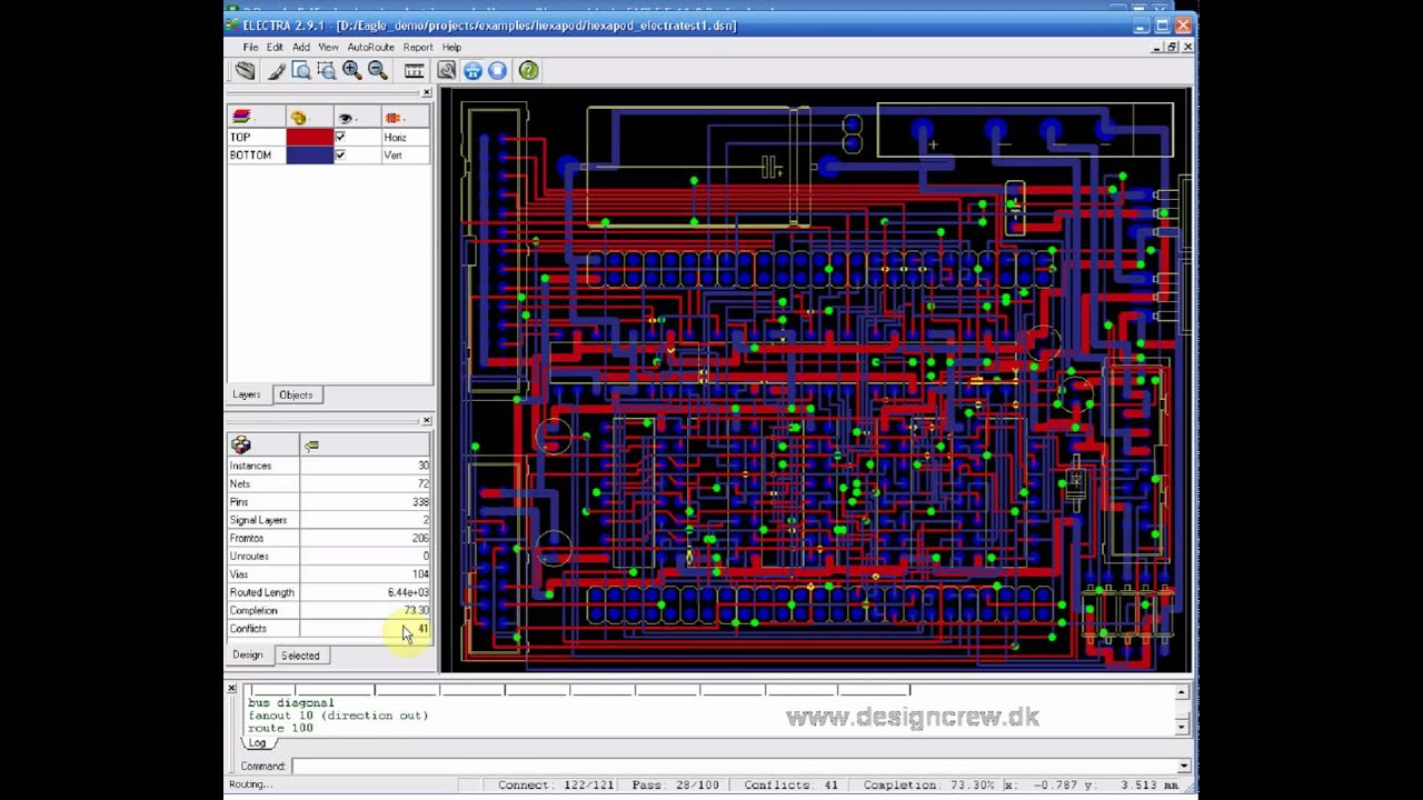 Cadsoft Eagle and Electra autorouter, Tutorial Lesson 4 - YouTube
