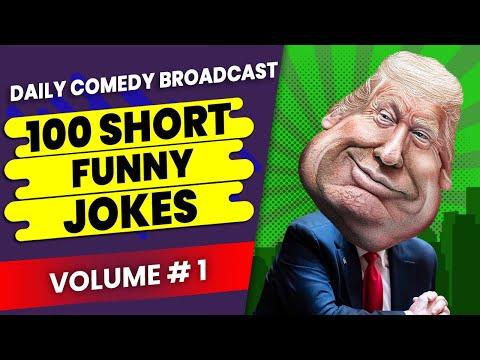 100 Funny Jokes | 100 Funny Insults | 100 Funny Comebacks | Volume #1