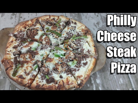 Philly Cheese Steak Pizza Recipe