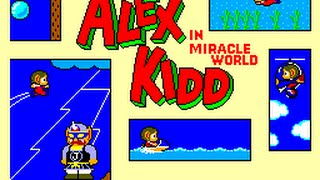 Master System Longplay [047] Alex Kidd in Miracle World