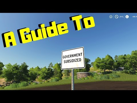 A GUIDE TO | Government Subsidized Sign   | Farming Simulator 2019 | Xbox One