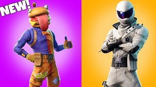 Nuovo! DURR BURGER SKIN - Altre pelli LEAKED!! Fortnite Battaglia Royale