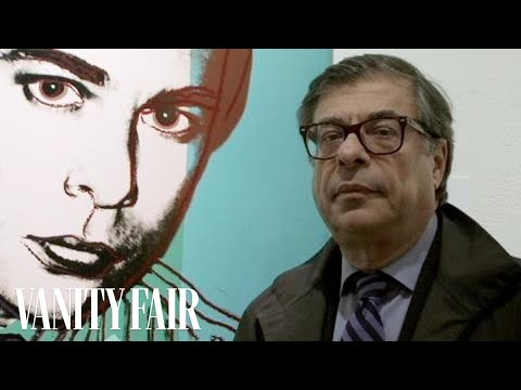 Bob Colacello Auctions His Portrait by Andy Warhol at Sotheby's
