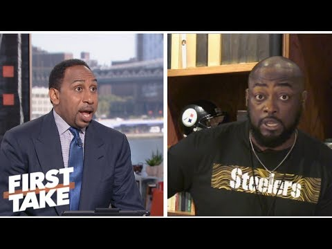 6db362b9be9 Mike Tomlin calls out Stephen A. during interview about Steelers defense