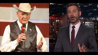 Roy Moore Went After Jimmy Kimmel On Twitter, It Was A Mistake