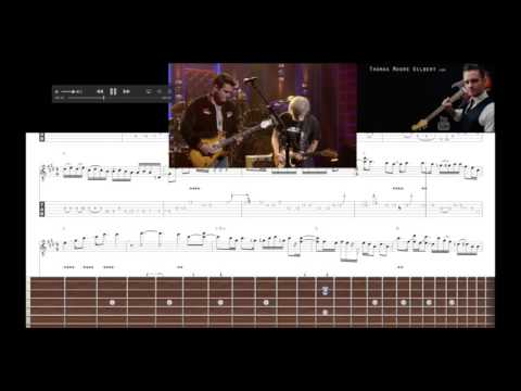 Dead & Co – Brown Eyed Women Solo 2 TAB Analysis