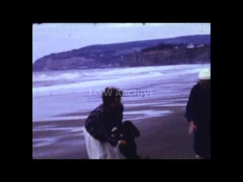 Ventnor Cascade  & Sandown Beach ? - Cine Film - Date Unknown - Isle Of Wight