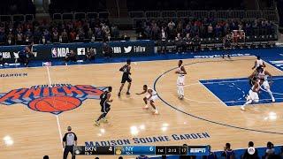 NBA LIVE 19 2020 ROSTERS! Brooklyn Nets vs New York Knicks - CPU SIM PS4 PRO - HD