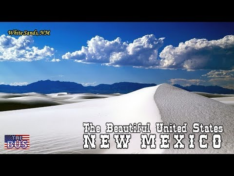 USA State of New Mexico Symbols / Beautiful Places / Song O, FAIR NEW MEXICO w/lyrics