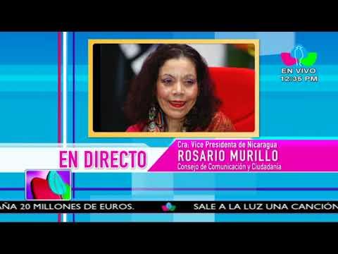Comunicación con la Vicepresidenta Compañera Rosario Murillo, 28 deFebrero 2018