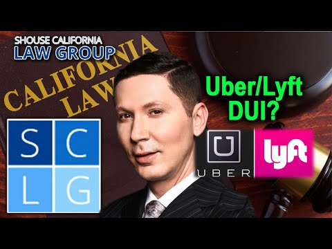 Rideshare DUI? What is the legal alcohol limit for Lyft/Uber drivers?