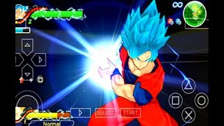 Dragon Ball Z Tenkaichi Tag Team - Goku Super Saiyan Blue