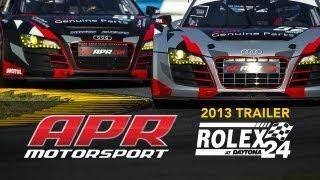 APR Rolex 24 at Daytona 2013