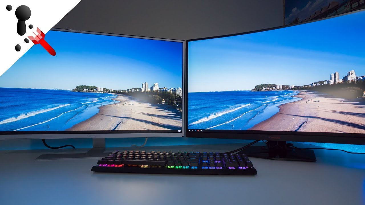 viewsonic xg3240c monitor review and vx3209 2k youtube. Black Bedroom Furniture Sets. Home Design Ideas