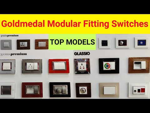 Goldmedal Modular Bijali Fitting Accessories Top 3 Models Quorra Premium, Grazia Premium, Glassio