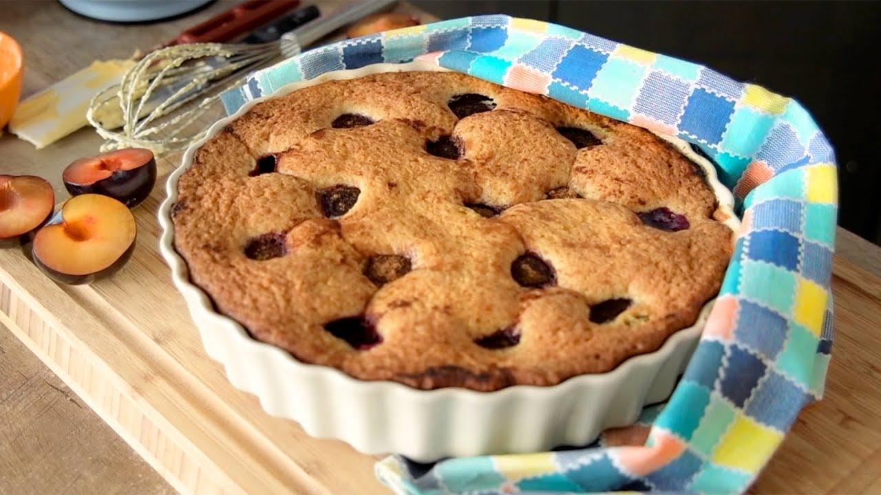 СЛИВОВЫЙ ПИРОГ по рецепту Нью-Йорк Таймс | можно с любыми фруктами! | любимый американский пирог