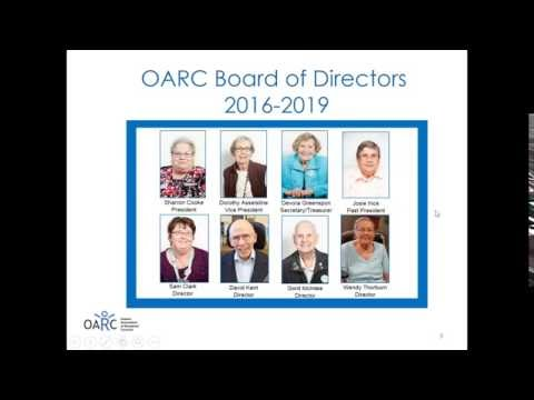 OARC Tools to Make the Most of Your Residents' Council 2016 09 08